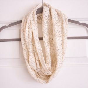 Accessories - Lace Infinity Scarf